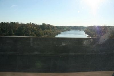 The Tombigbee River from The New Rooster Bridge Photo, Click for full size