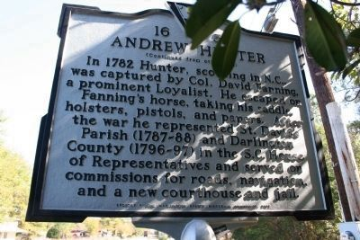 Andrew Hunter Marker (Side B) image. Click for full size.
