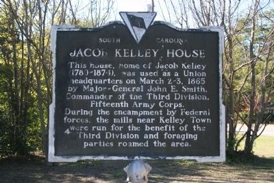 Jacob Kelley House Marker image. Click for full size.