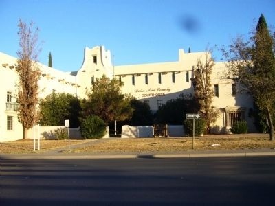 Doña Ana County Courthouse image. Click for full size.