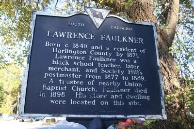 Lawrence Faulkner / Simon Brown Marker (front) Photo, Click for full size