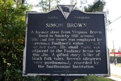Lawrence Faulkner / Simon Brown Marker (reverse) Photo, Click for full size