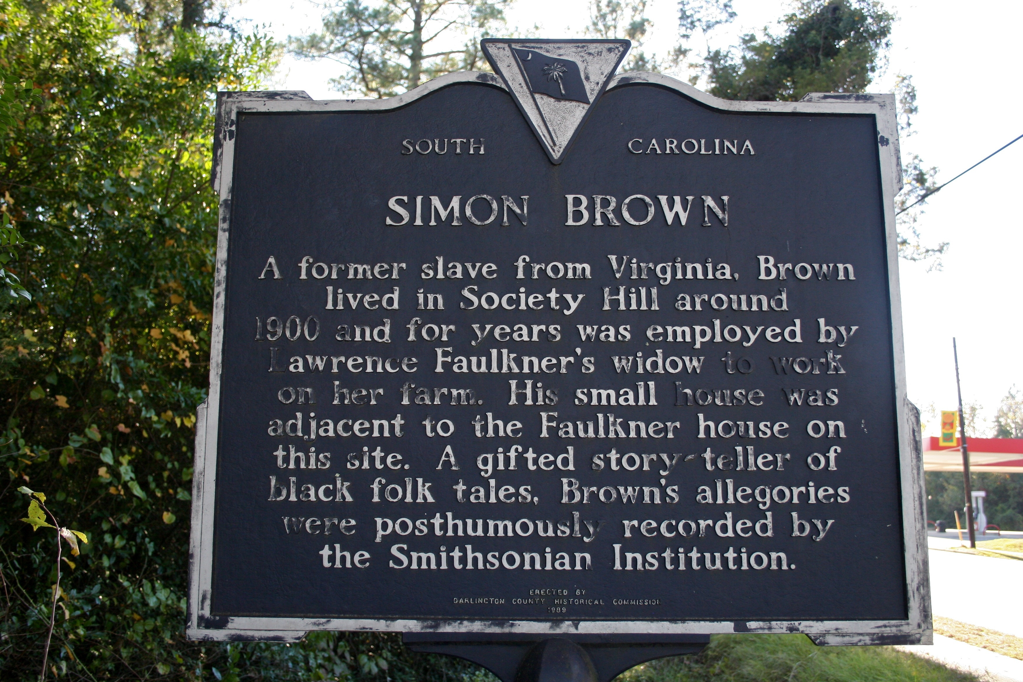 Lawrence Faulkner / Simon Brown Marker (reverse)