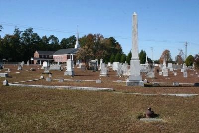 Lake Swamp Baptist Church Cemetery image. Click for full size.