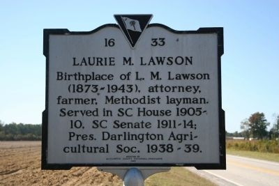 Laurie M. Lawson Marker image. Click for full size.