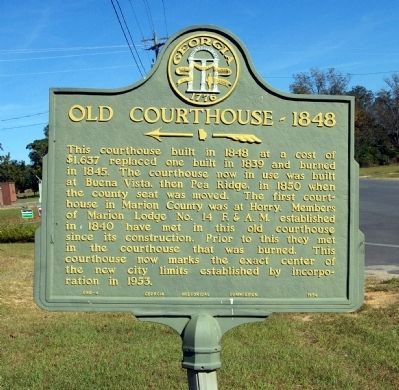 Old Courthouse – 1848 Marker image. Click for full size.