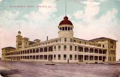 Zion Hotel Postcard image. Click for full size.