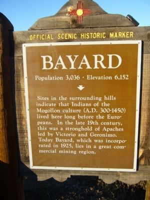 Bayard Marker image. Click for full size.