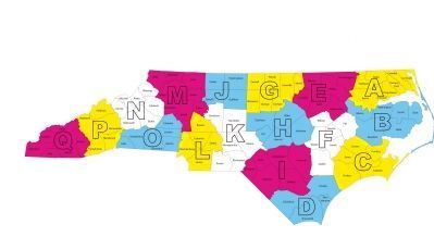 North Carolina Highway Historical Marker Districts image. Click for full size.