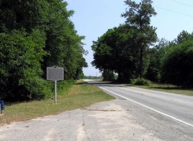 Wide view of the John Westfield Lide House Marker image. Click for full size.