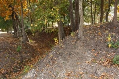 Confederate Lines Earthworks, as mentioned image. Click for full size.