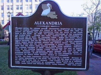 Alexandria Marker image. Click for full size.