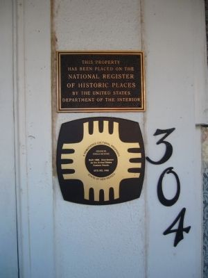 Seamon Field House Marker image. Click for full size.