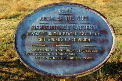 4th United States Artillery, (Batteries H & M) Marker image. Click for full size.