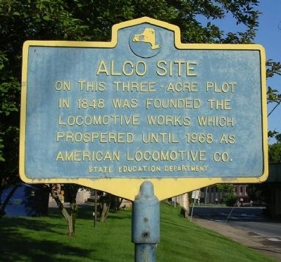 ALCo Site Marker image. Click for full size.