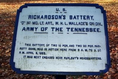 Richardson's Battery Marker image. Click for full size.