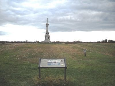 East Cavalry Field Marker image. Click for full size.