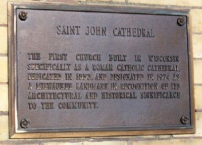 Saint John Cathedral Marker image. Click for full size.