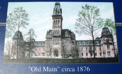 "NHDVS ""Old Main"" circa 1876 image. Click for full size."