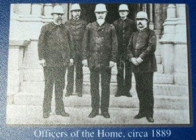 Officers of the Home, circa 1889 image. Click for full size.