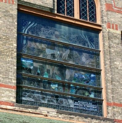 NHDVS Theater Bldg Window image. Click for full size.