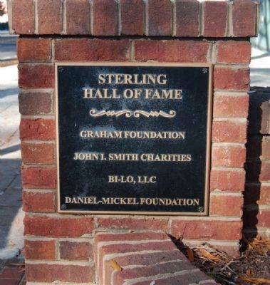 Sterling High School Memorial Marker -<br>Sterling Hall of Fame image. Click for full size.