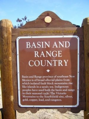 Basin and Range County Marker image. Click for full size.