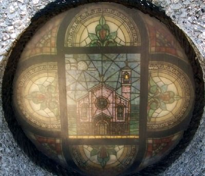 Blessed Virgin of Pompeii Church Window image. Click for full size.