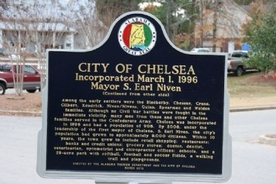 City Of Chelsea Marker Side B image. Click for full size.