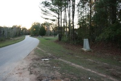 Choctaw Corner Marker Site West View image, Click for more information