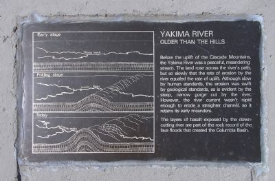 Detail of the Yakima River (Right) plaque image. Click for full size.