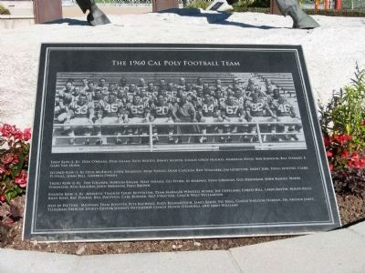 The 1960 Cal Poly Football Team image. Click for full size.