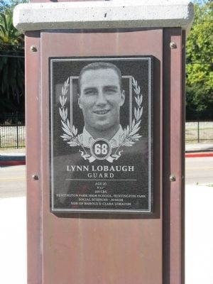 Lynn Lobaugh - Guard - 68 image. Click for full size.