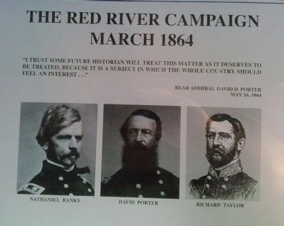 The Red River Campaign Marker image. Click for full size.