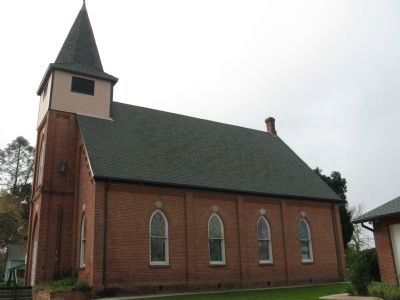North Side of the Church Building Photo, Click for full size