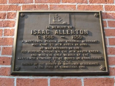 Isaac Allerton Marker image. Click for full size.