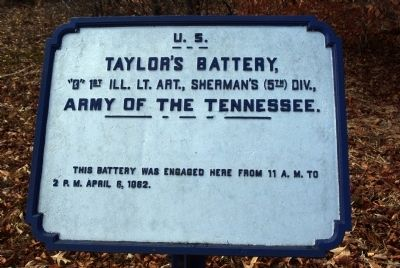 Taylor's Battery Marker image. Click for full size.