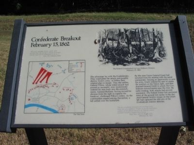 Confederate Breakout Marker image. Click for full size.