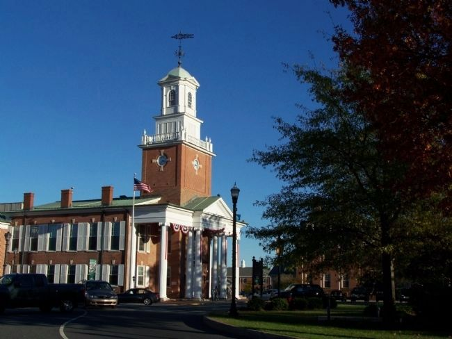 Sussex County Courthouse image. Click for full size.