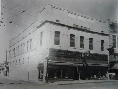 Jácome's Store at Scott & Congress - Early 1930's image. Click for full size.