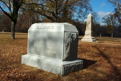 46th Illinois Infantry Marker image. Click for full size.