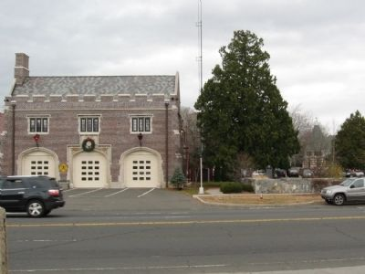 The Cos Cob Fire Station image. Click for full size.