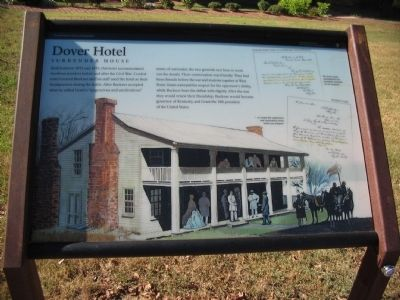 Dover Hotel Marker image. Click for full size.