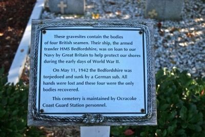 British Cemetery Marker image. Click for full size.