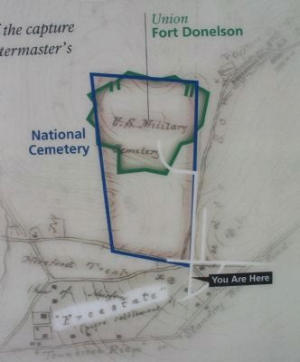 Map of the Second Fort Donelson image. Click for full size.