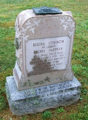 Regina Leininger Marker Photo, Click for full size