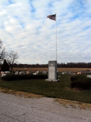 Veterans Monument Marker Photo, Click for full size