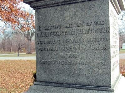 Huntington Civil War Memorial Photo, Click for full size