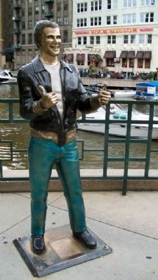 The Bronze Fonz image. Click for full size.