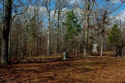 Confederate Burial Trench #2 Marker Photo, Click for full size